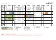 Stundenplan für IM12 - IHI Zittau