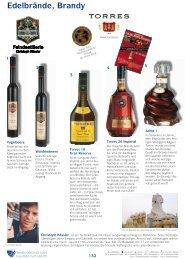 Edelbrände · Brandy · Eau de Vie - Wein Wolf