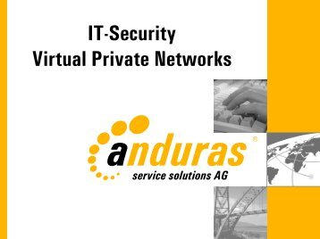IT-Security Virtual Private Networks - IHK Niederbayern
