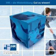 Broschuere Firmenkunden - Weiterbildungsgesellschaft der IHK ...