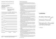 LEHRGANG Grundkurs Pneumatik Aufbaukurs ... - IHK Niederbayern