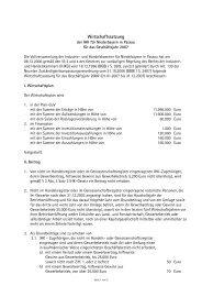 Wirtschaftssatzung 2007 - IHK Niederbayern