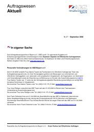 Auftragswesen Aktuell - IHK Niederbayern