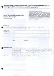 Verbrauchte Prüfungsaufgaben der ... - IHK Niederbayern