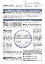 FDA Leitfaden_Juli 2012