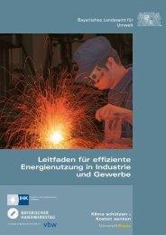 Leitfaden für effiziente Energienutzung in Industrie ... - Stadt Bamberg
