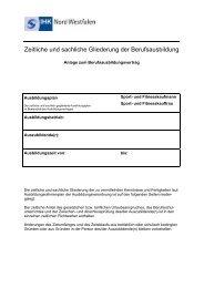 Ausbildungsplan - IHK zu Dortmund