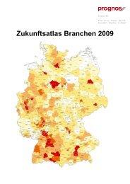 Prognos Zukunftsatlas Branchen 2009 - Berlin Partner GmbH