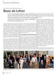 Bosse als Lehrer - und Handelskammer Nord Westfalen