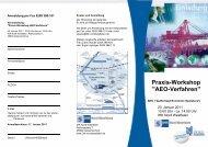 AEO-Verfahren - und Handelskammer Nord Westfalen