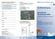 Flyer Betrieblicher Suchtberater - IHK Nürnberg für Mittelfranken