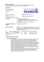Papier Franzen GmbH - IHK Trier