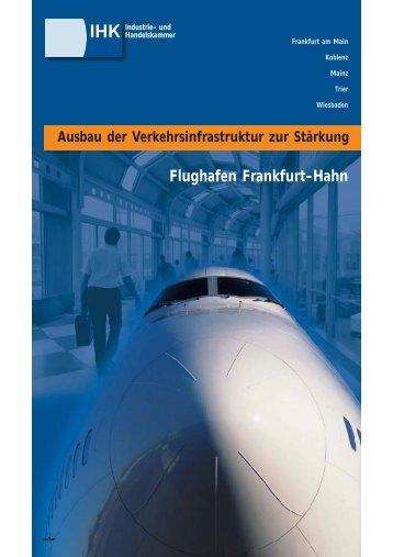 Flughafen Frankfurt-Hahn - IHK Trier