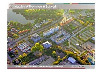 Gefährdungspotenziale und praktische Erfahrungen ... - IHK Schwerin