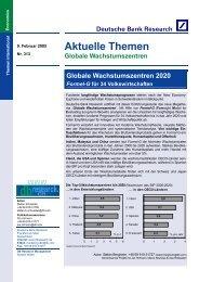 Globale Wachstumszentren 2020 - und Handelskammer Nord ...