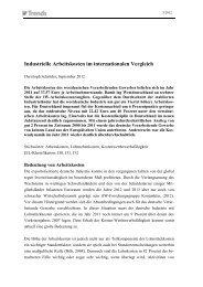 Industrielle Arbeitskosten im internationalen Vergleich - Institut der ...