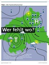 We Wer fehlt wo? - und Handelskammer Nord Westfalen