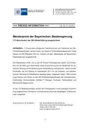 PM_25_meisterpreis - IHK Nürnberg für Mittelfranken