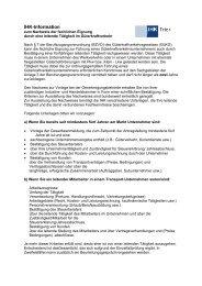 Information zum Nachweis der fachlichen Eignung durch ... - IHK Trier