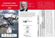 Frischer Wind Für ihr Marketing - und Handelskammer Nord Westfalen