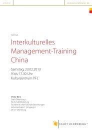 Programm (829KB) - Oldenburgische Industrie- und Handelskammer