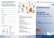 Betrieblicher Suchtberater - IHK Nürnberg für Mittelfranken