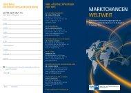 mArKtchAncen WeltWeIt - und Handelskammer Nord Westfalen