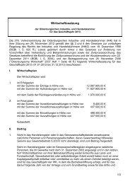 Wirtschaftssatzung - Oldenburgische Industrie- und Handelskammer