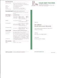 HAUS DER TECHNIK - Ihr GmbH