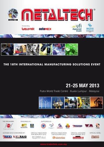 Metaltech2013 E-Brochure