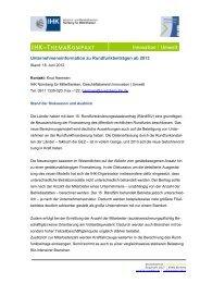 Merkblatt Rundfunkgebühr - IHK Nürnberg für Mittelfranken