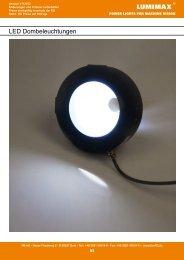 LED Dombeleuchtungen - iiM AG