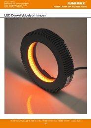 LED Dunkelfeldbeleuchtungen - iiM AG