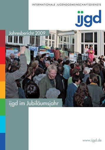 Jahresbericht 2009 der ijgd