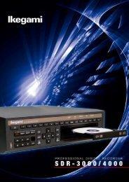 sdr-3000/4000 professional digital recorder