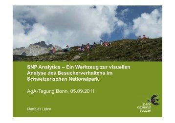 SNP Analytics – Ein Werkzeug zur visuellen Analyse des ...