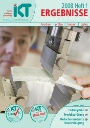 Download IKT Ergebnisse 2008 Heft 1 (PDF 33