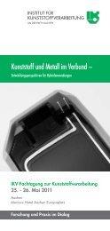Kunststoff und Metall im Verbund