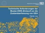 Technische Anforderungen der Muster-EWS an die ... - IKT