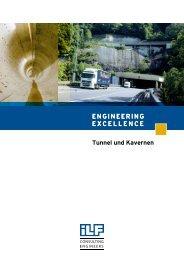 ENGINEERING EXCELLENCE Tunnel und Kavernen