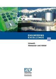 ENGINEERING EXCELLENCE Umwelt, Abwasser und Abfall - Ilf.com
