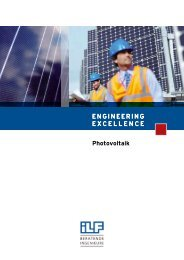 ENGINEERING EXCELLENCE Photovoltaik