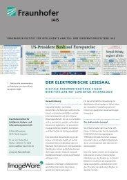 DER ELEKTRONISCHE LESESAAL - ImageWare