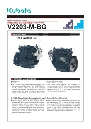 D1305-E3B KUBOTA 05-SERIES (3-cylinder) - IMA