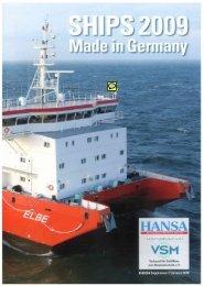HANSA SHIPS 2009 (pdf, 4.5 Mbyte)