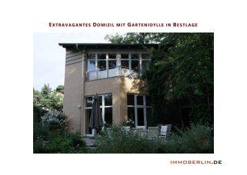 IMMOBERLIN .DE - Häuser Makler Berlin Carsten D. Topel