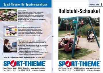 Rollstuhl-Schaukel - Sport-Thieme.ch