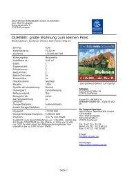 DUHNEN: große Wohnung zum kleinen Preis - Grutzpalk Immobilien