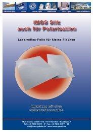 IMOS Silk Laserreflex-Folie PDF
