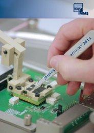 Jahresbericht 2011 - IMMS Institut für Mikroelektronik
